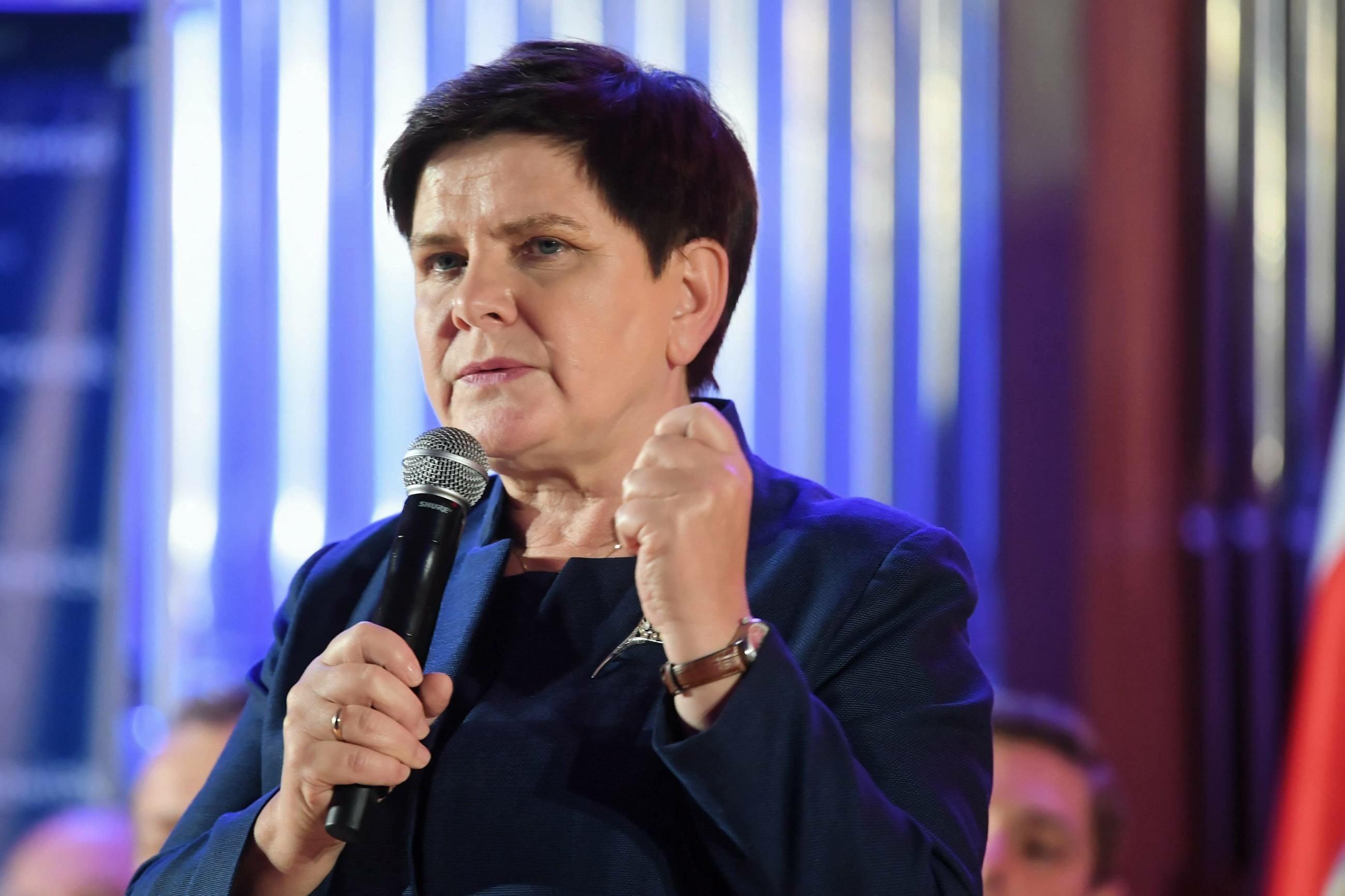 Wicepremier, szefowa Komitetu Społecznego Rady Ministrów Beata Szydło