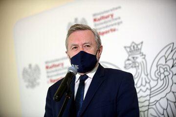 Wiceprezes Rady Ministrów, minister kultury, dziedzictwa narodowego i sportu Piotr Gliński