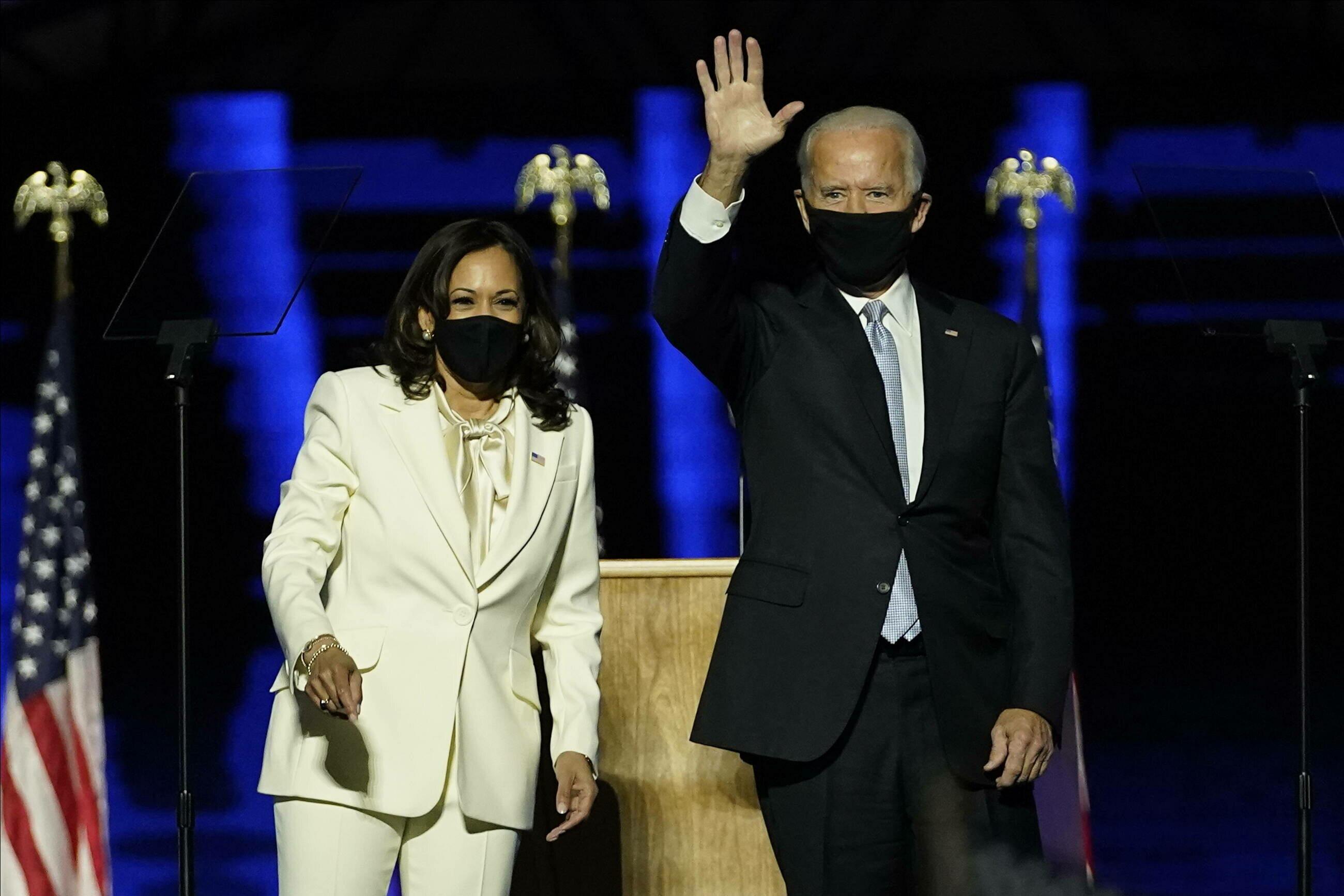 Wiceprezydent USA Kamala Harris i prezydent USA Joe Biden
