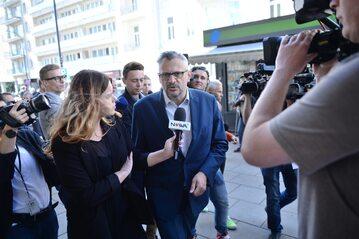 Wiceprzewodniczący klubu PO Tomasz Lenz