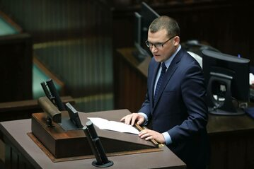 Wiceszef MSWiA Paweł Szefernaker