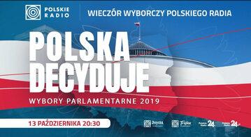 Wieczór wyborczy Polskiego Radia. Początek 20.30
