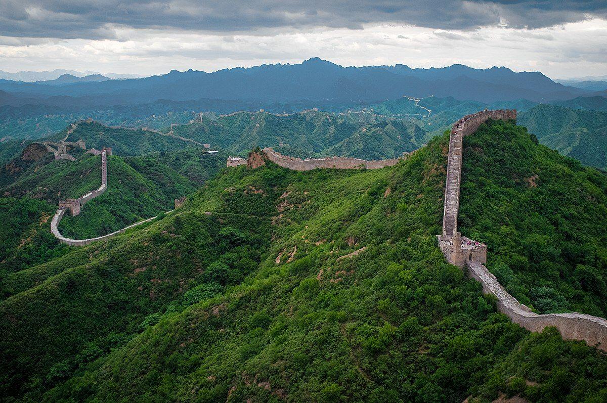 Wielki Mur w okolicy Jinshanling.