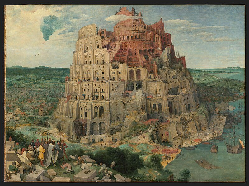 """""""Wieża Babel"""" - Pieter Bruegel"""