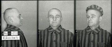 Witold Pilecki w Auschwitz, zdjęcie obozowe
