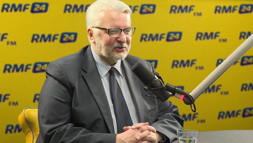 Witold Waszczykowski, szef MSZ