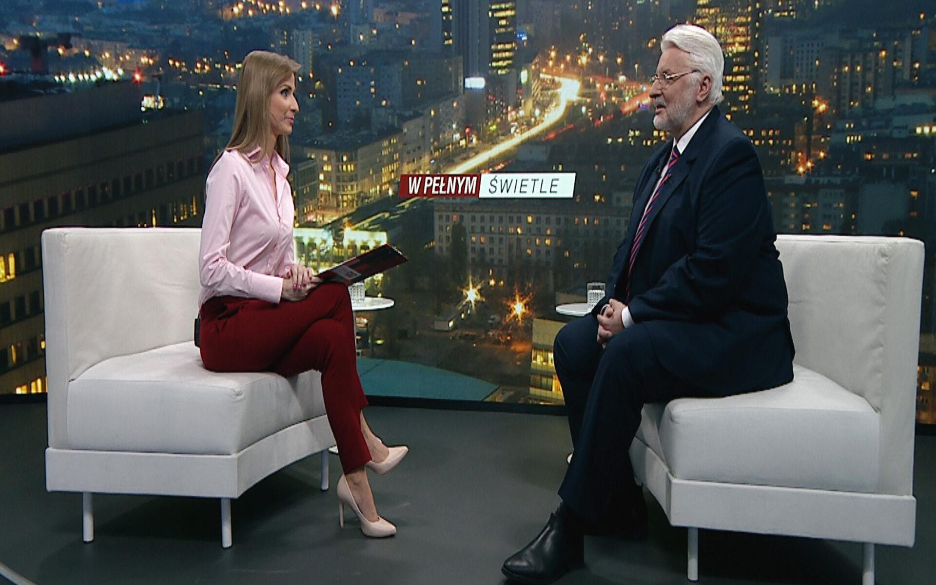 """Witold Waszczykowski w programie Ewy Bugały """"W pełnym świetle"""" w TVP Info"""