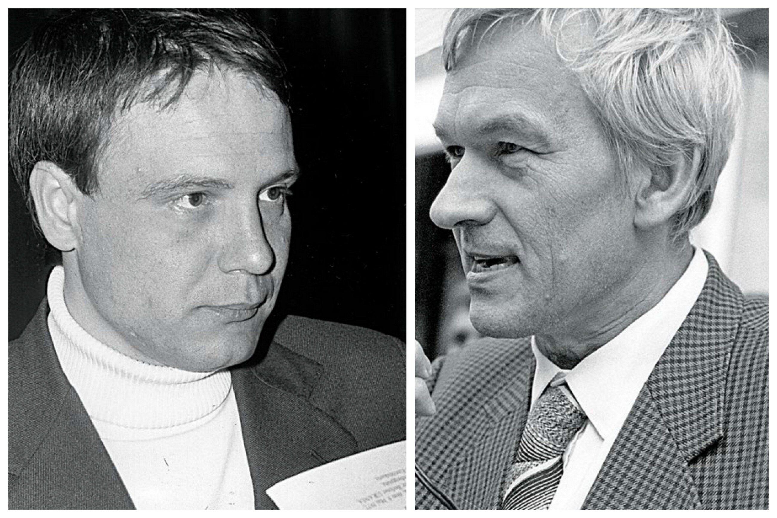 Władimir Bukowski i Kornel Morawiecki