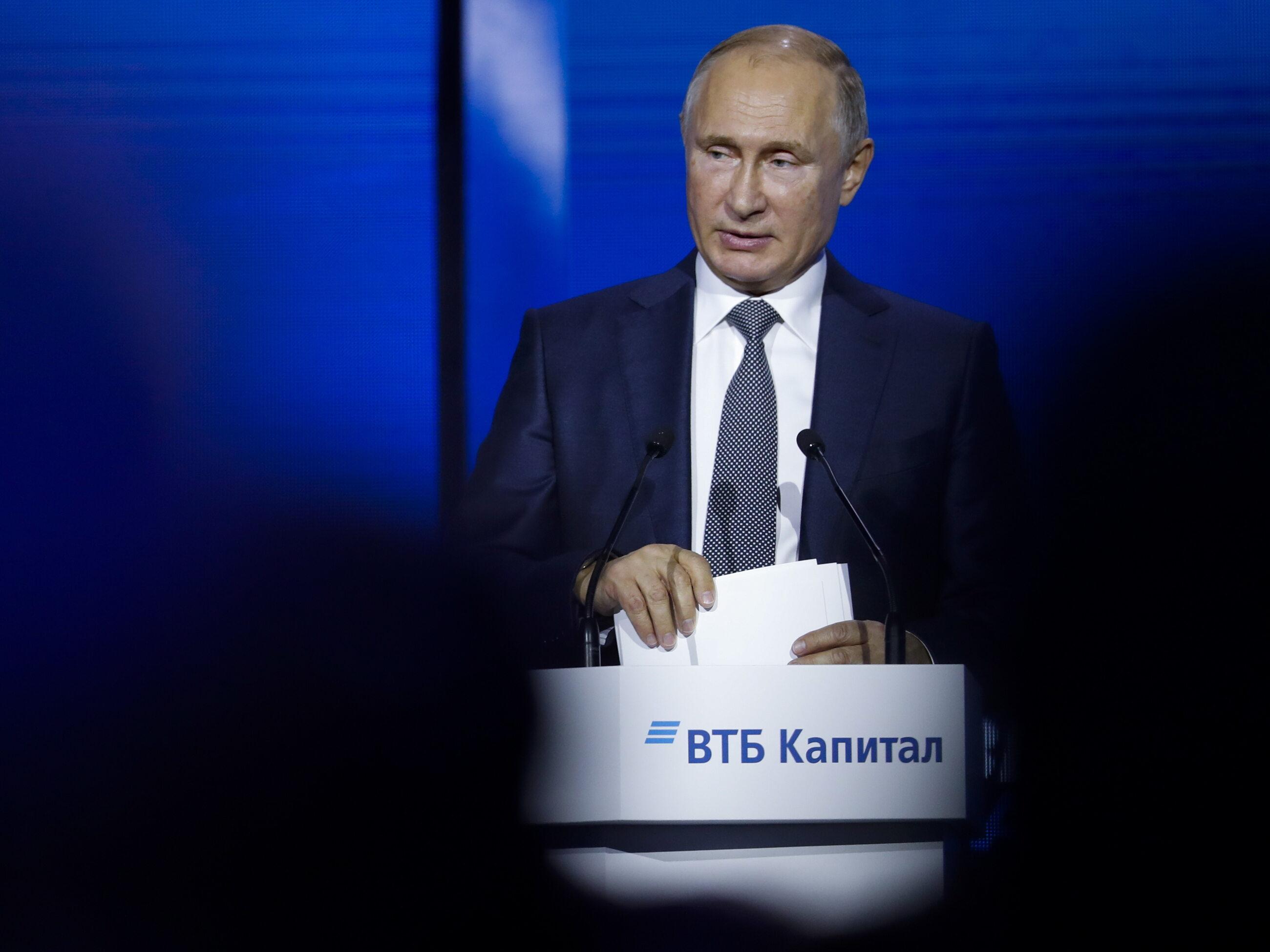 Władimir Putin, prezydent Rosji