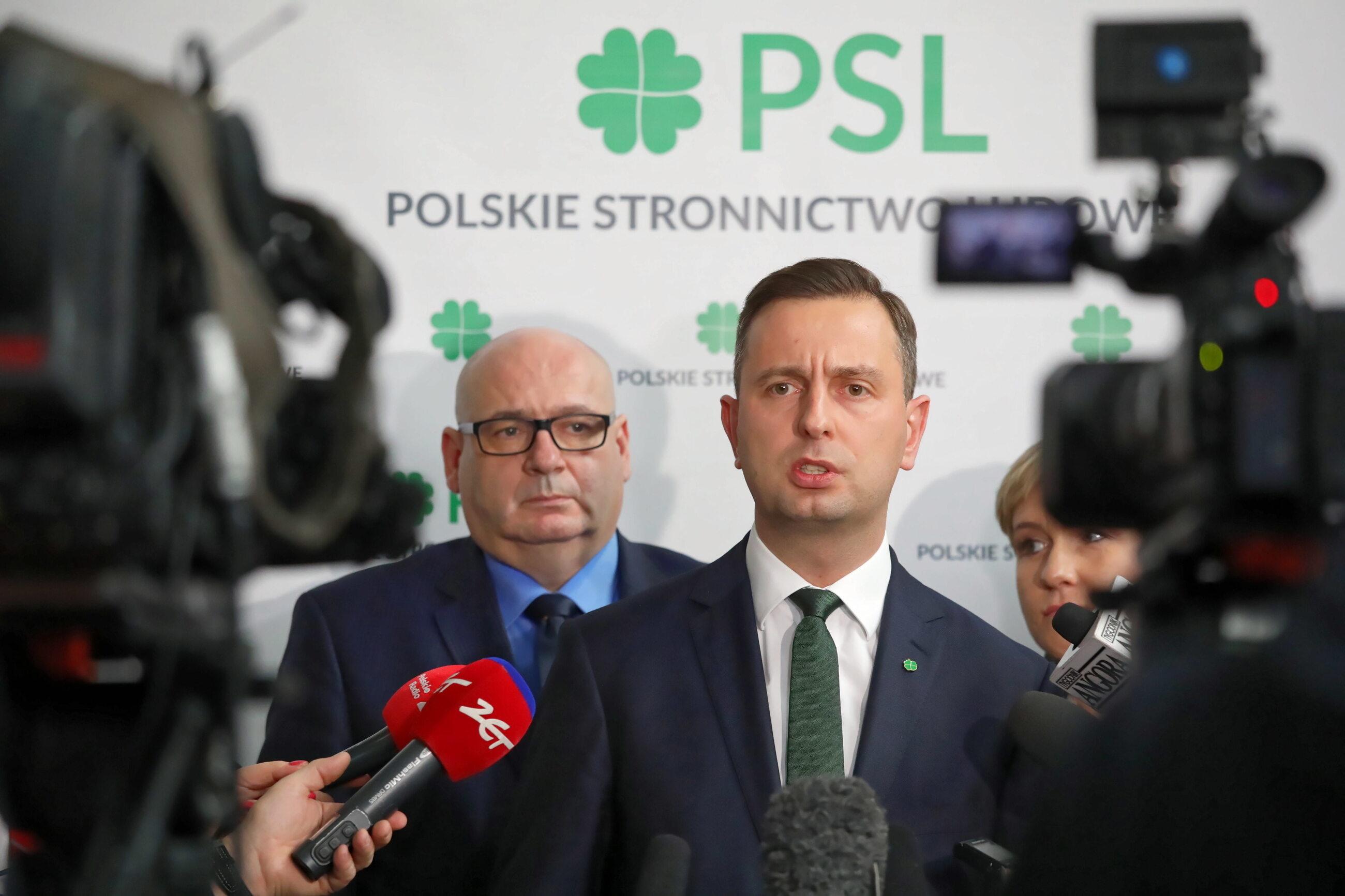 Władysław Kosiniak-Kamysz i Piotr Zgorzelski