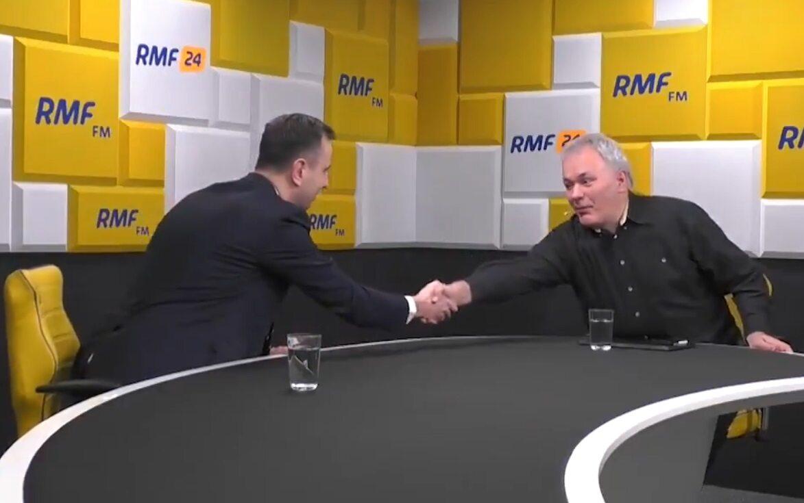 Władysław Kosiniak-Kamysz i Robert Mazurek