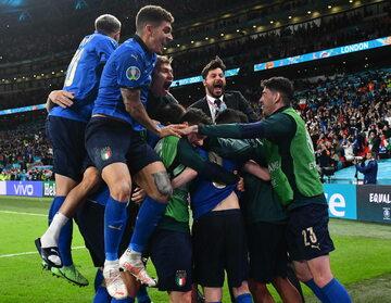 Włochy w finale Euro 2020