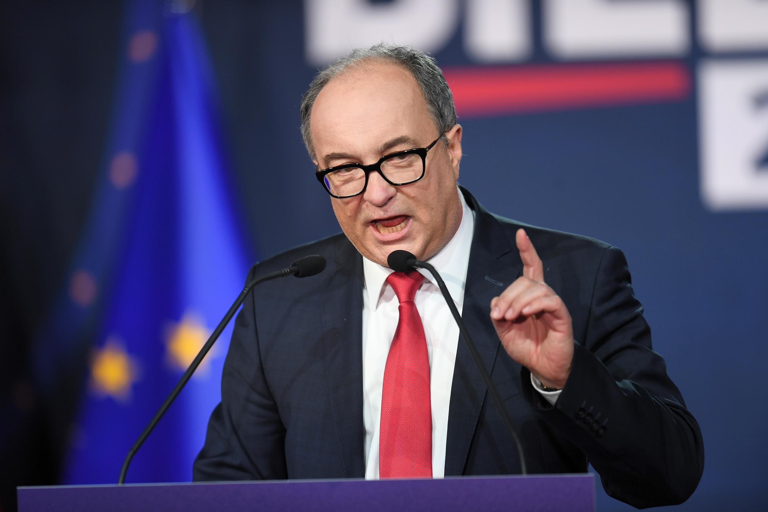 Włodzimierz Czarzasty, przewodniczący SLD