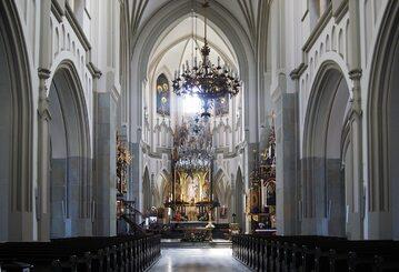 Wnętrze Kościoła św. Józefa w Krakowie