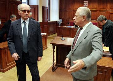 Wojciech Jaruzelski i Czesław Kiszczak