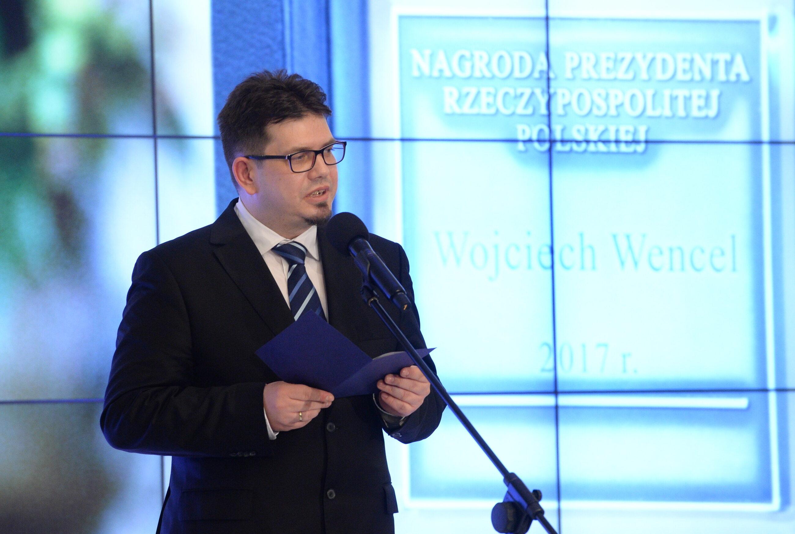 Wojciech Wencel w Pałacu Prezydenckim