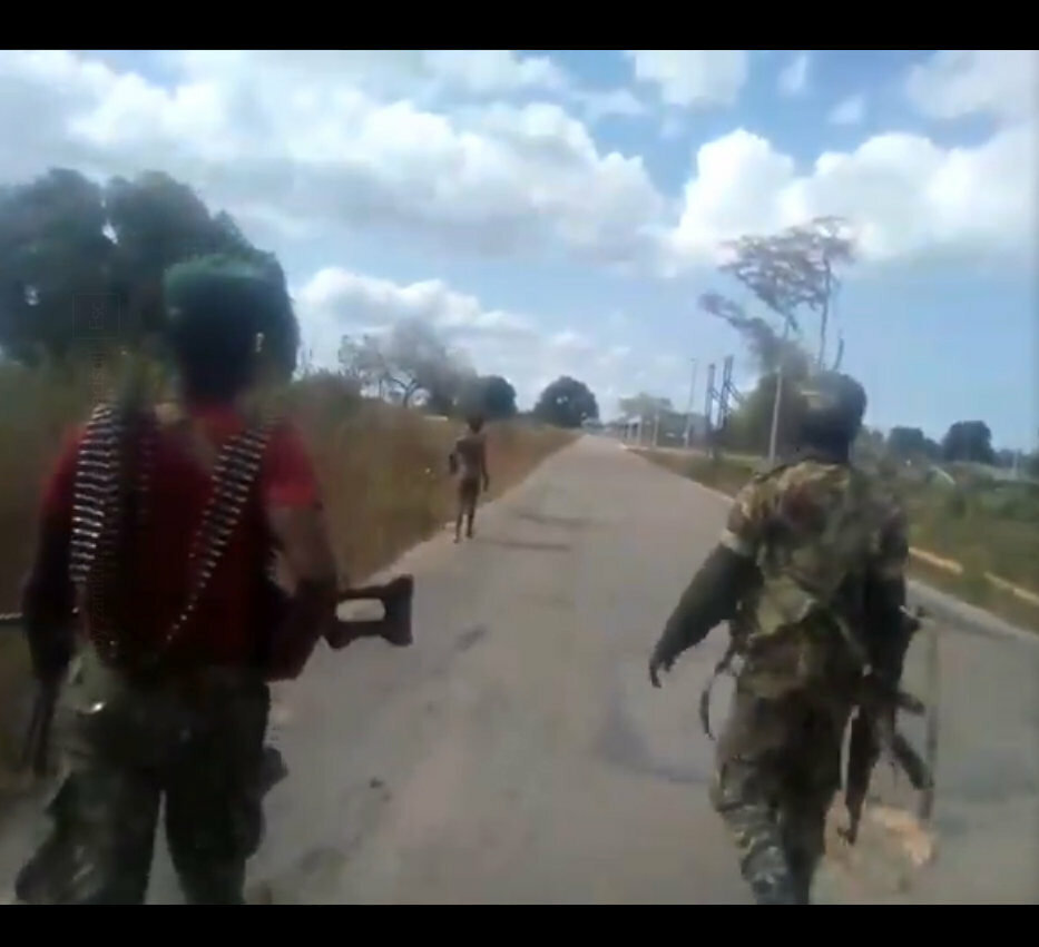 Wstrząsające nagranie z Mozambiku obiegło świat
