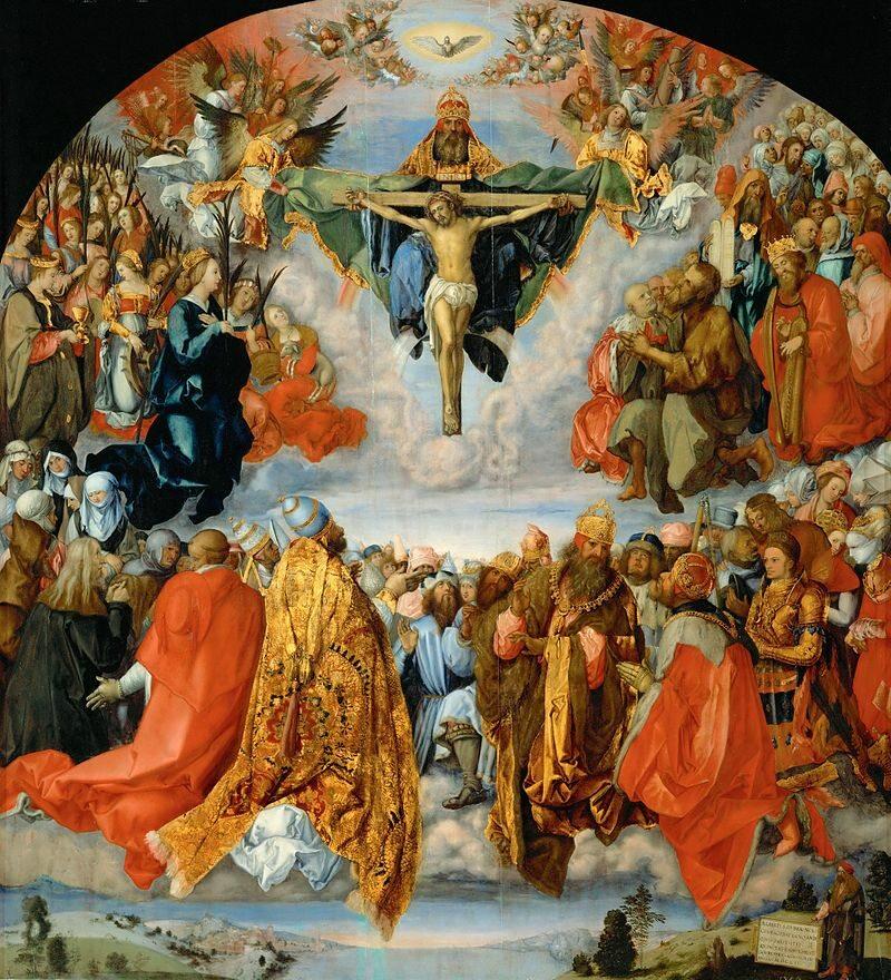 Wszyscy święci, obraz pędzla Albrechta Dürera z ołtarza w Landau z 1511 roku