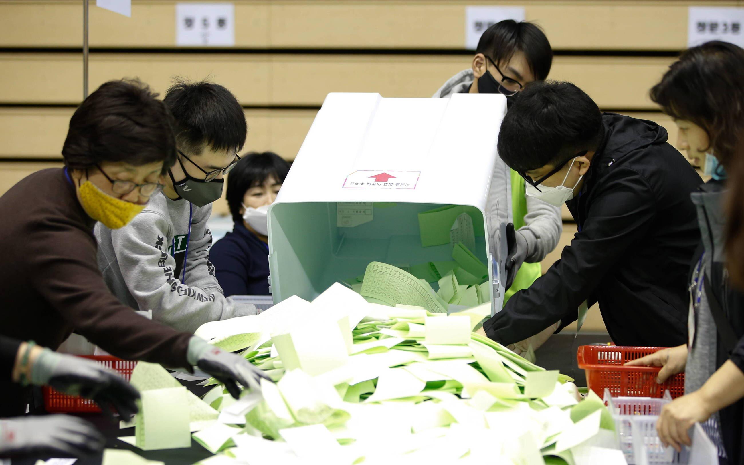 Wybory w Korei Południowej