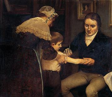 Wynalazca pierwszej szczepionki, dr Edward Jenner