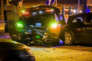 Wypadek z udziałem limuzyny w której jechał Antoni Macierewicz