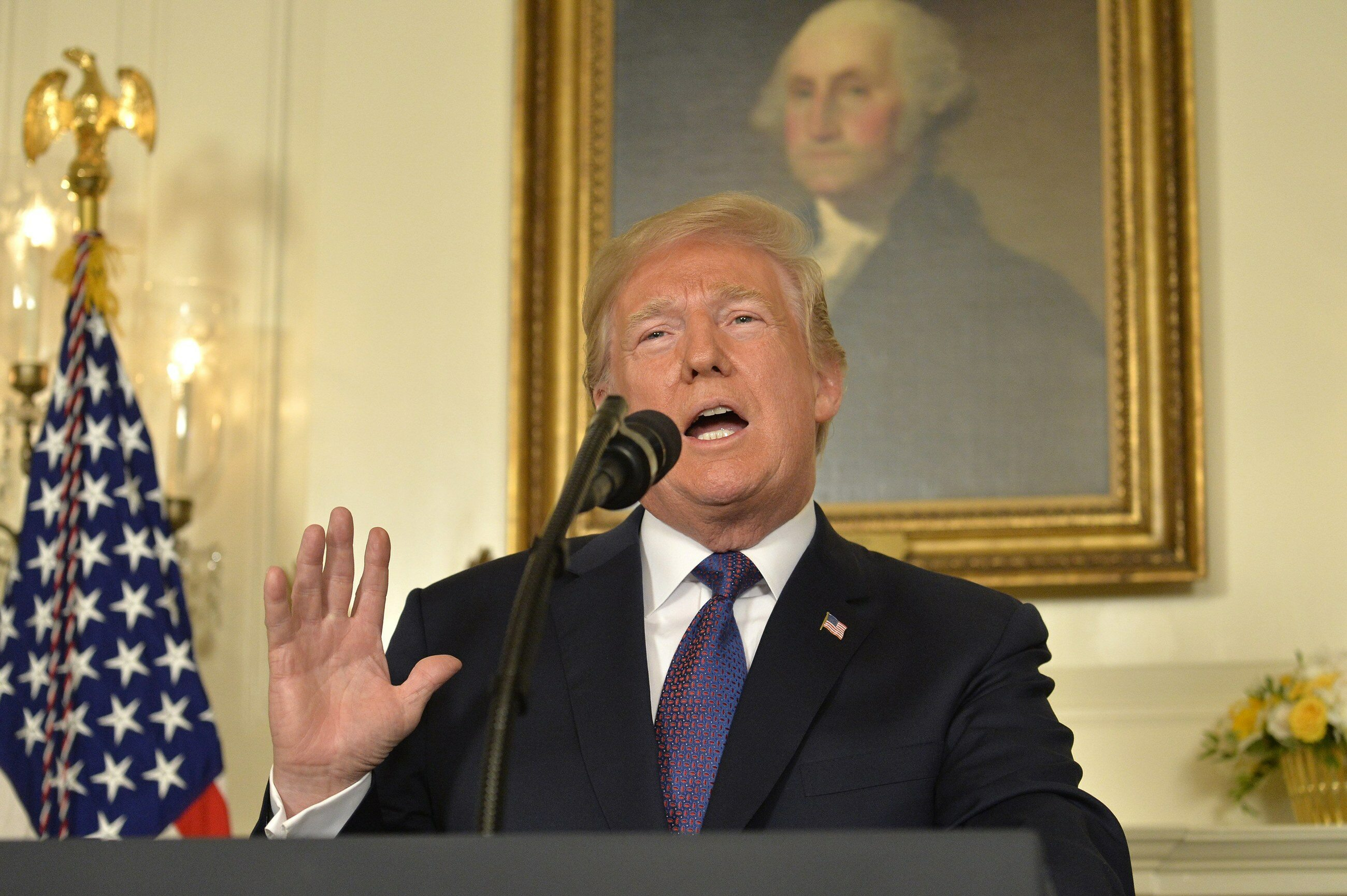 Wystąpienie prezydenta USA Donalda Trumpa