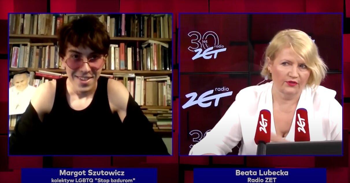 Wywiad Beaty Lubeckiej z Margot na antenie Radia Zet