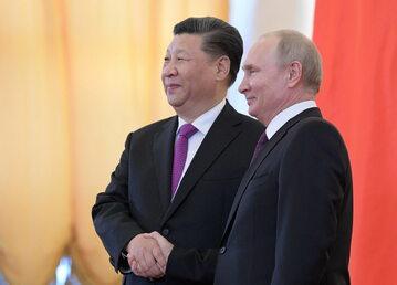 Xi Jingping i Władimir Putin