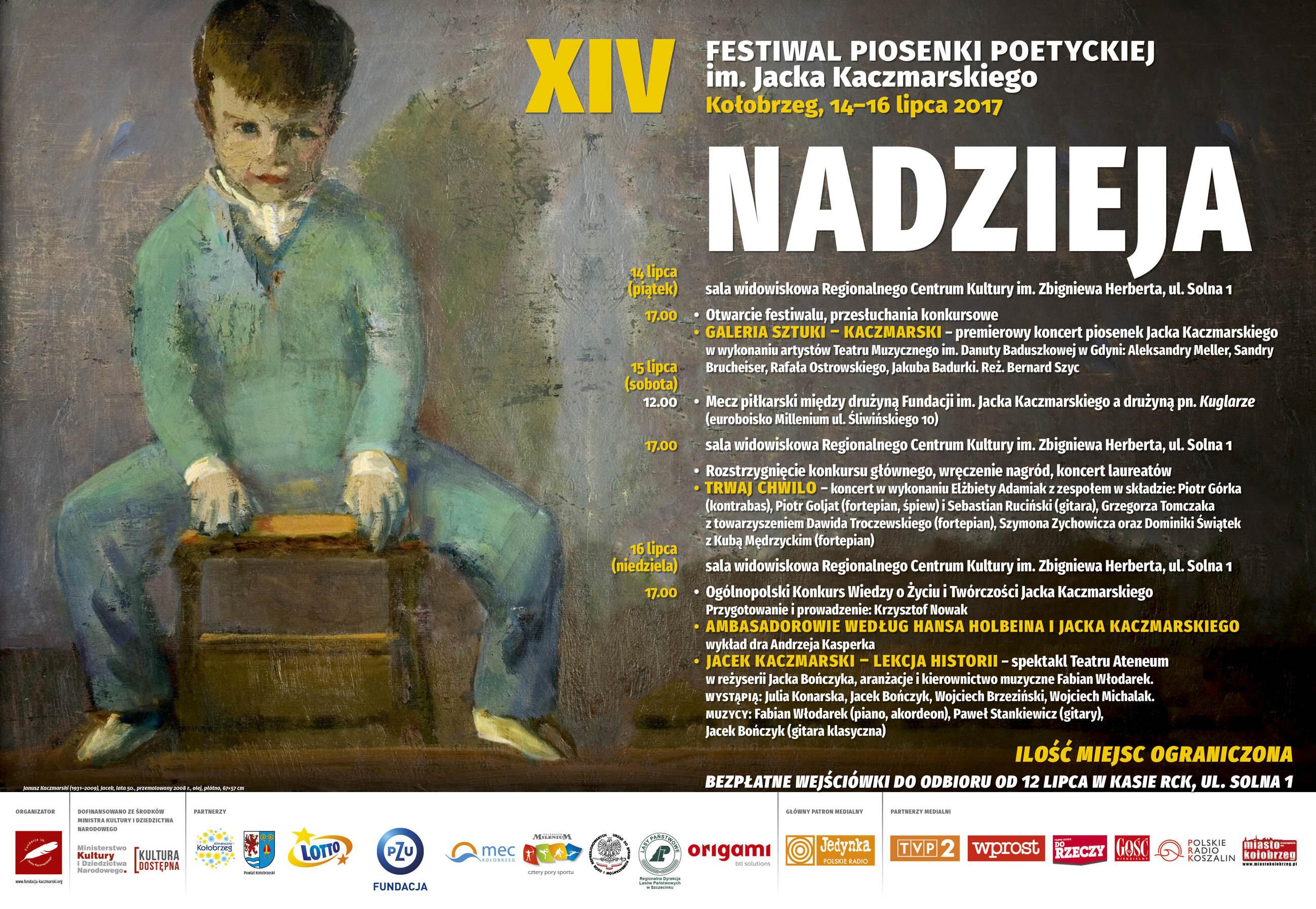 XIV Festiwal Piosenki Poetyckiej im. Jacka Kaczmarskiego