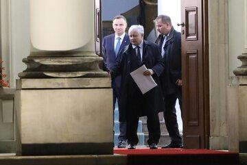 Zakończyło się spotkanie Duda-Kaczyński