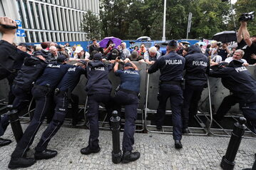 Zamieszki pod Sejmem