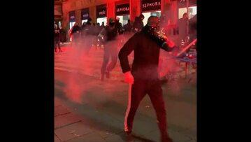 Zamieszki podczas manifestacji w Warszawie