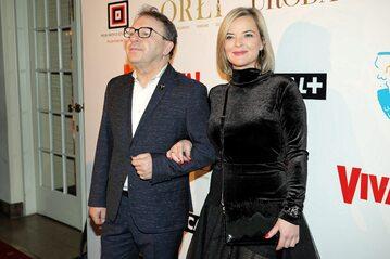 Zbigniew i Monika Zamachowscy