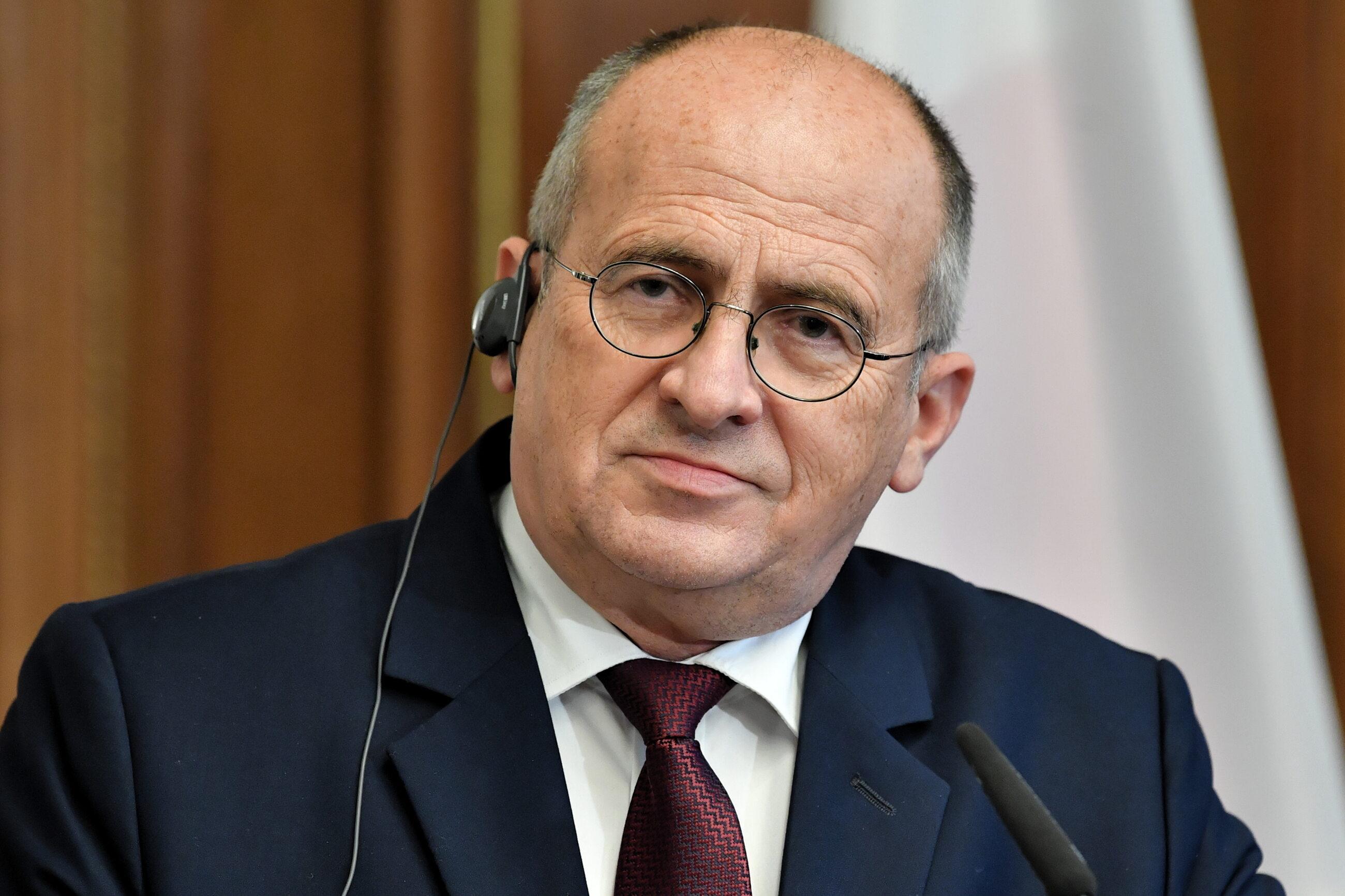 Zbigniew Rau, szef MSZ