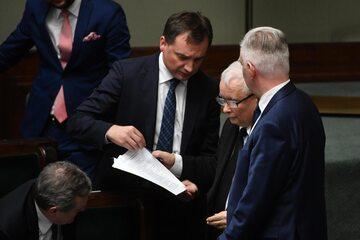 Zbigniew Ziobro, Jarosław Kaczyński, Jarosław Gowin