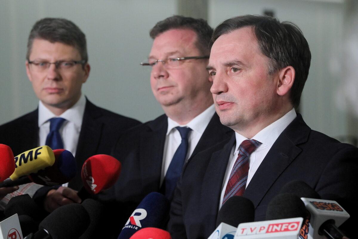 Zbigniew Ziobro, Marcin Warchoł, Michał Wójcik
