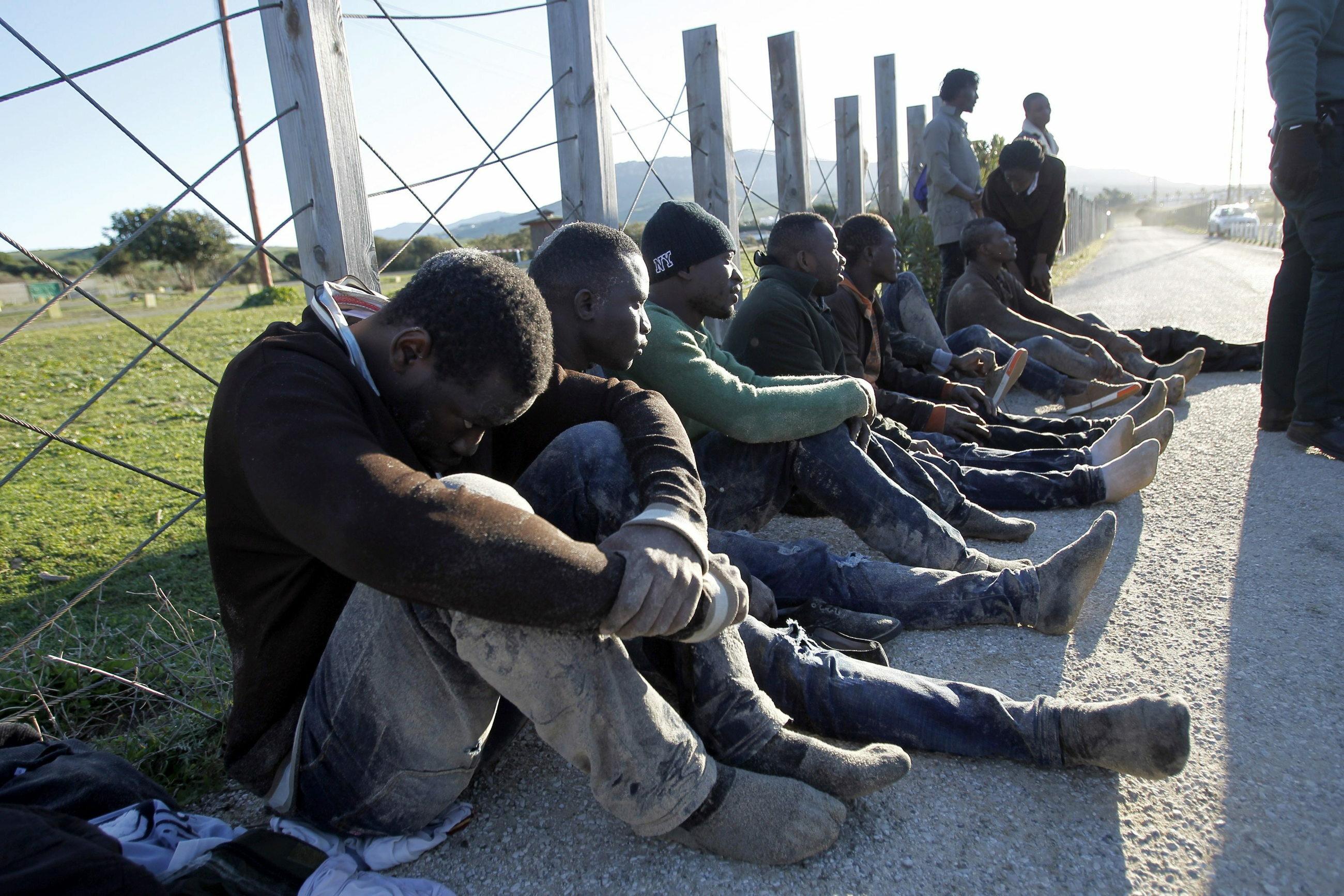 zdj. ilustracyjne, uchodźcy