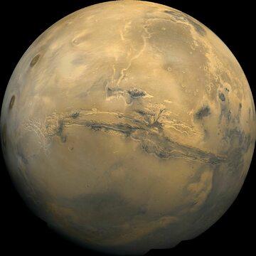 Zdjęcie Marsa zrobione przez sondę Viking 1