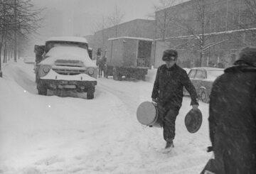Zima Stulecia na Wierzbnie w Warszawie, 30 stycznia 1979 r.