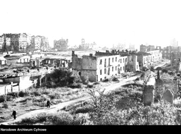Zniszczenia wojenne w Warszawie, II wojna światowa