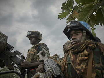Żołnierze w Kongo, zdjęcie ilustracyjne