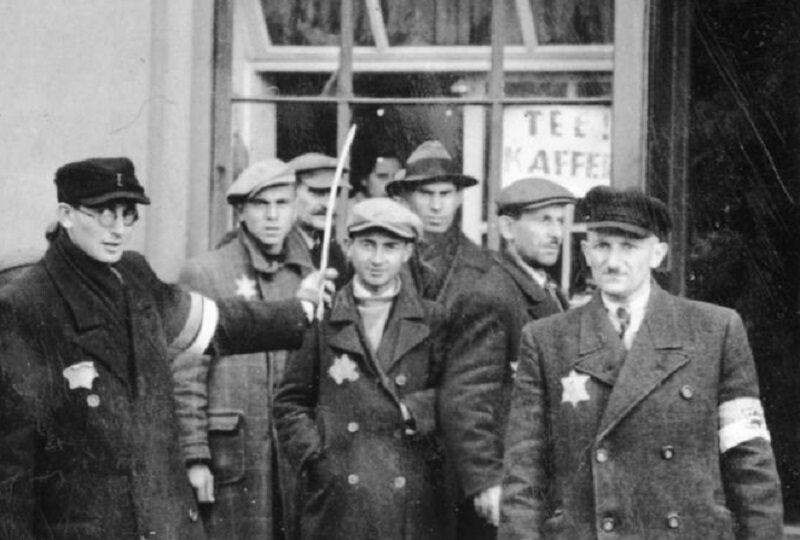 Żydowscy policjanci, 1940 r.