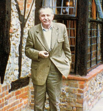 Zygmunt Augustowski u schyłku swej agenturalnej działalności, Londyn, 1988 r.